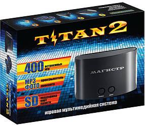 Ігрова приставка Sega Magistr Titan 2 400 вбудованих ігор Чорна КОД: RN 127