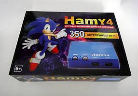 Ігрова приставка Hamy 4 Sega+Dendy - 350 ігор Синя КОД: RN 128
