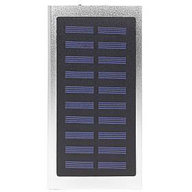 Внешний аккумулятор Power bank Solar Water Cube 8000 mAh портативная солнечная батарея Silver  КОД: 258-10392