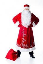 Новорічні карнавальні костюми і аксесуари:перуки, маски ,шляпи,мішки для подарунків