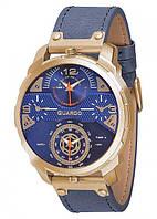 Чоловічі наручні годинники Guardo P11502 GBlBl Золотистий КОД: VT-P11502 GBlBl
