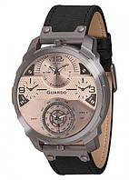 Чоловічі наручні годинники Guardo P11502 GrSB Сірий КОД: VT-P11502 GrSB