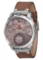 Чоловічі наручні годинники Guardo P11502 SGrBr Сталевий КОД: VT-P11502 SGrBr
