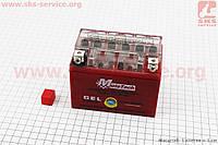 Аккумулятор 4Аh YTX4L-BS гелевый (L113*W70*H85mm), 2020 (348010)