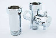 Кран для стиральной машины Koer kr.520 3/4x3/4x3/4