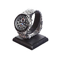 Часы Guanqin G6801 CS Black-Black-Silver КОД: G6801BBS