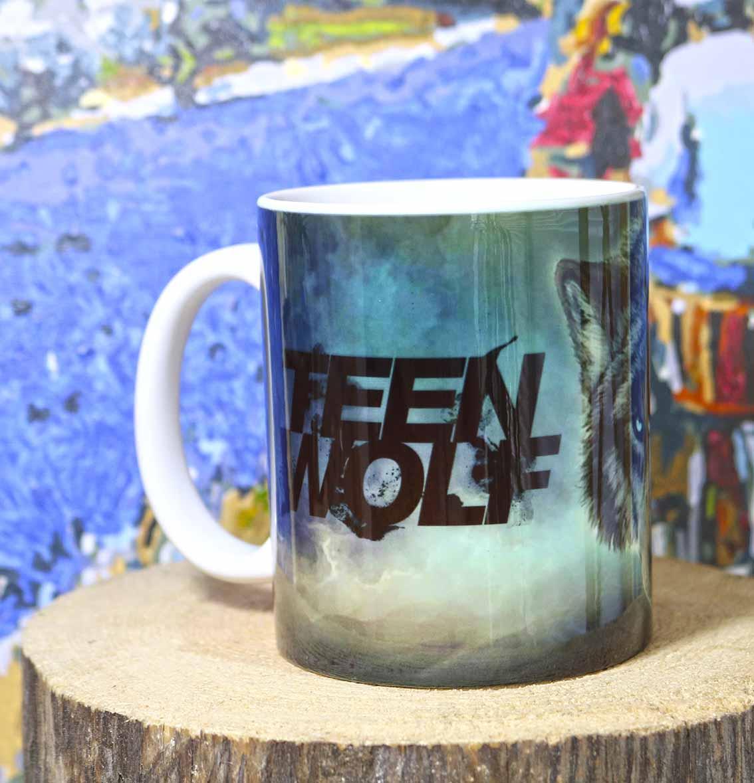 Чашка серый волк Волчонок / Teen Wolf
