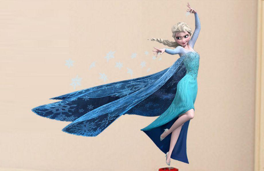 Дизайнерская наклейка Королева Эльза
