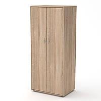 Шкаф-2 дуб сонома  (79х55х183 см)