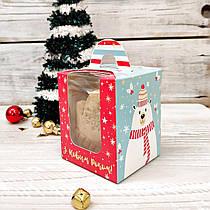 Домашнее имбирное печенье новогодний набор 8 штук в упаковке