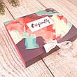 Набор носков подарочный девушки 10 пар любимой веселые с принтами оригинальный подарок девушке на 8 марта, фото 6