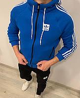 Теплый мужской спортивный костюм Adidas Striped (только размер S), фото 1