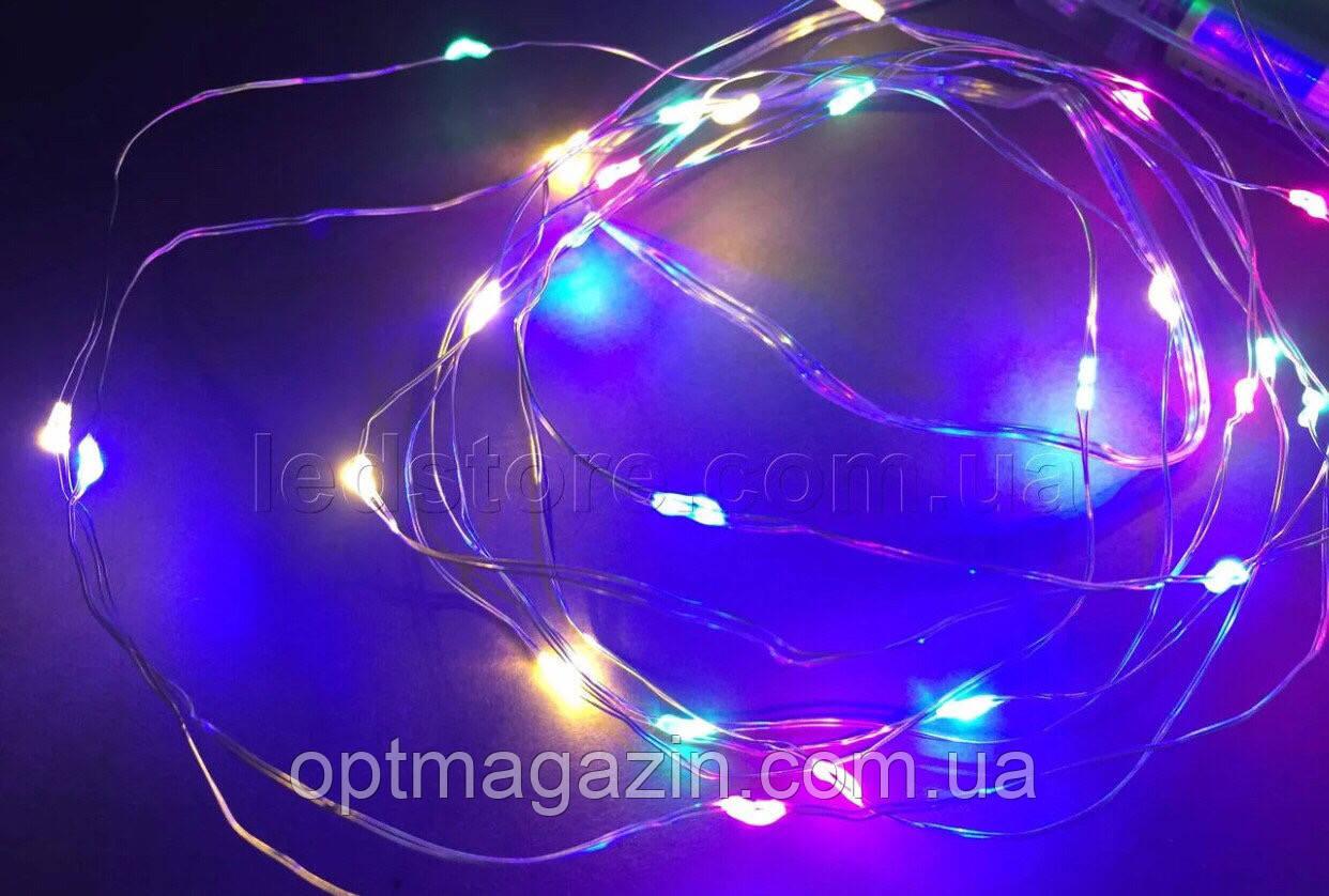 Гирлянда светодиодная капля росы 2 м