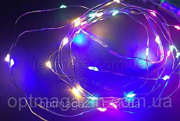 Гирлянда светодиодная капля росы 2 м, фото 2