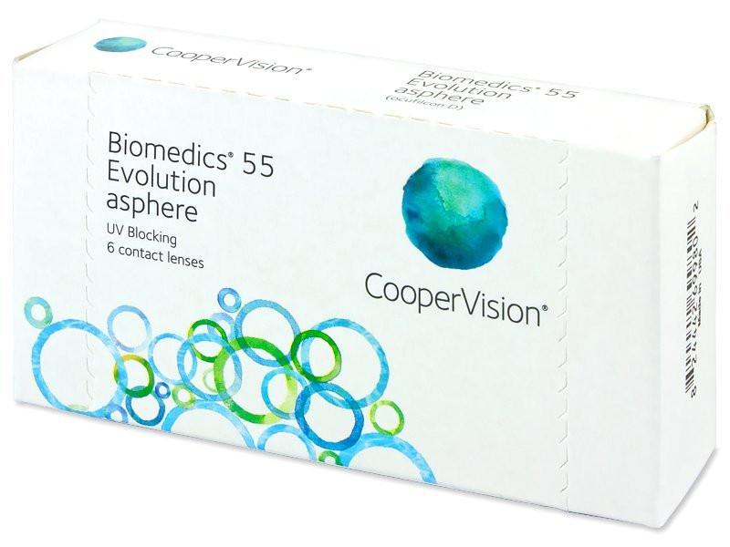 Контактные линзы Biomedics 55 Evolution 1 шт