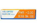 Контактные линзы Air Optix Night&Day Aqua 1 шт, фото 3