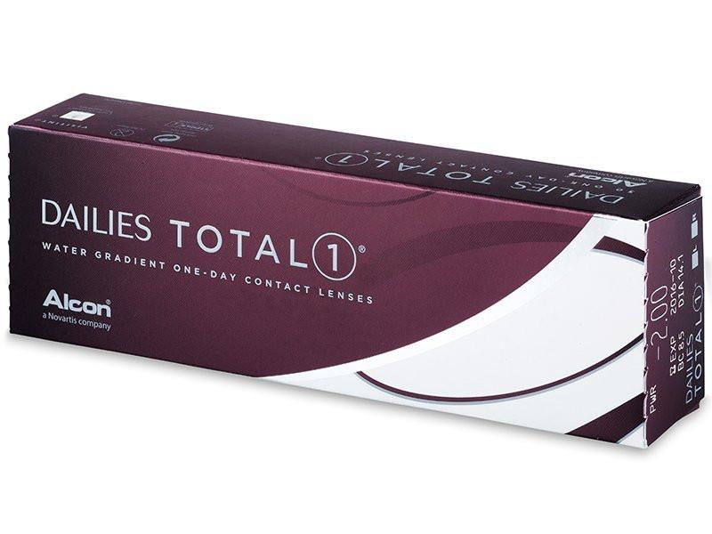 Контактные линзы Dailies Total 1 30 шт