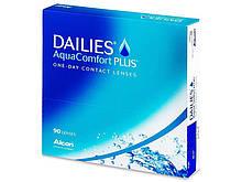 Контактные линзы Dailies AquaComfort Plus 90 шт