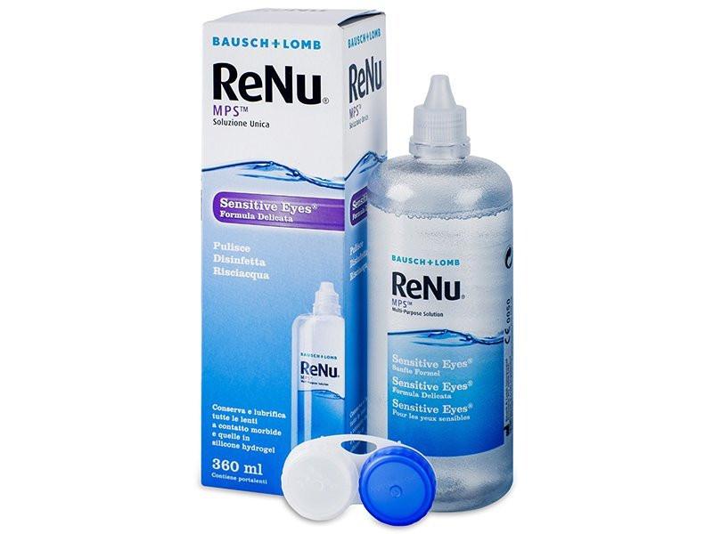 Раствор для контактных линз ReNu MPS 240 мл