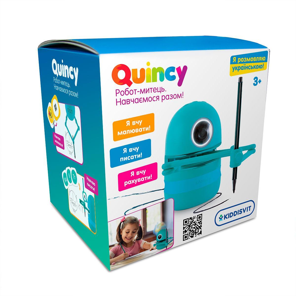 Обучающий робот художник - Квинси (укр. язык) Quincy Landzo MS.06.0015-U