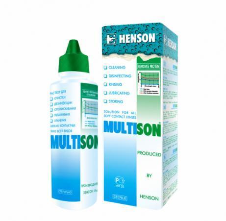 Раствор для контактных линз Multison 375 мл