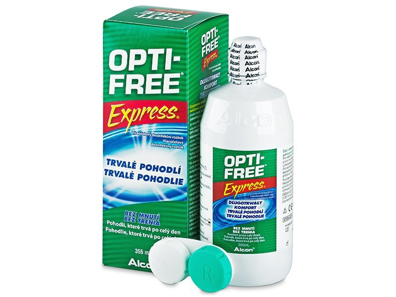 Раствор для контактных линз Opti-Free Express 355 мл