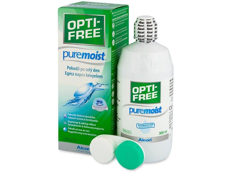 Раствор для контактных линз Opti Free PureMoist 300 мл