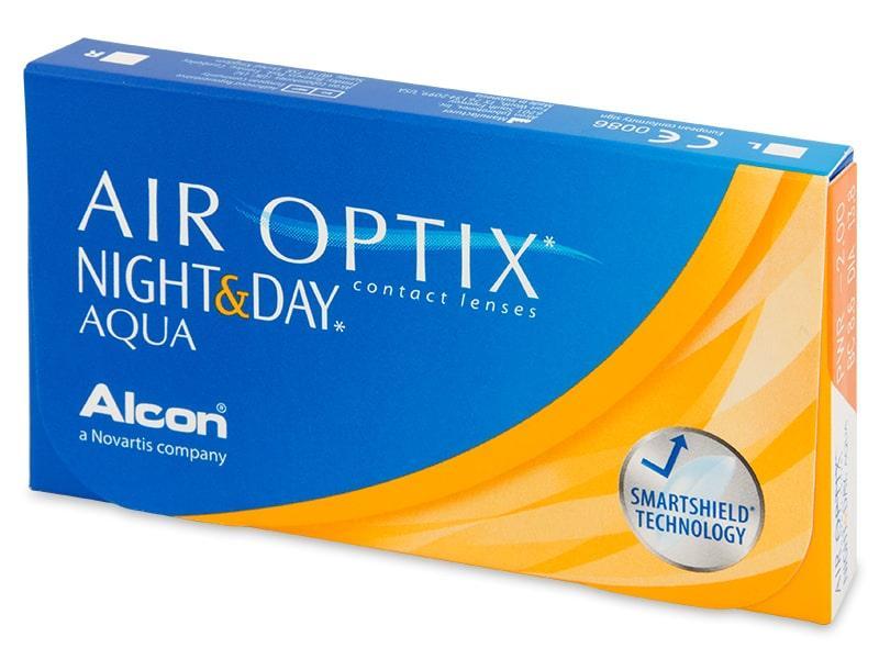 Контактные линзы Air Optix Night&Day Aqua 3 шт