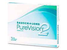 Контактные линзы PureVision 2 3 шт