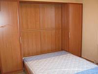 Откидная кровать со шкафами на заказ