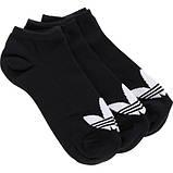 Дитячі шкарпетки Adidas Trefoil, 3пары,Розмір 27-30, фото 2