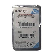 Контактные линзы Biofinity 1 шт