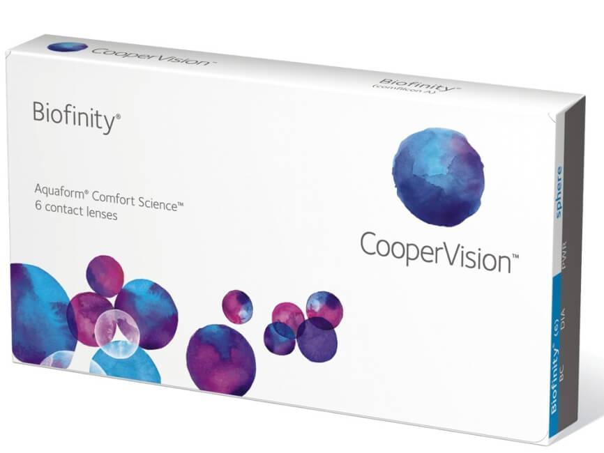 Контактные линзы Biofinity 3 шт