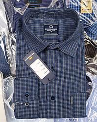 Кашемировая мужская рубашка «Bross Ardo» в клетку