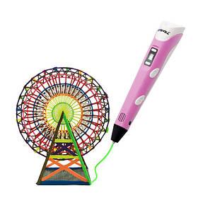 3D-ручка My Core MyRiwell RP-100B Pink з ABS PLA пластиком LCD дисплей КОД: 4993-15499