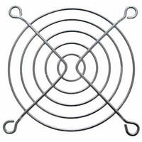 Решетка для вентилятора 50 x 50 mm, металлическая, никелированная