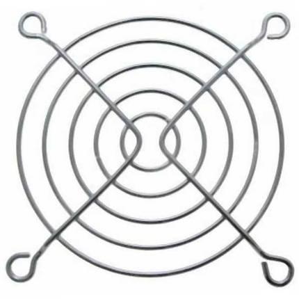 Решетка для вентилятора 92 x 92mm, металлическая, никелированная, фото 2