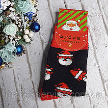 Новогодние мужские носки Aura.via размер 39-42