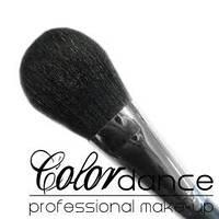 Кисть Colordance № 1 ( серия black) для пудры большая натуральная