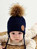 Шапка для мальчика  арт. Хельсинке, ТМ Дембохаус, от 6  до 12 месяцев, фото 2