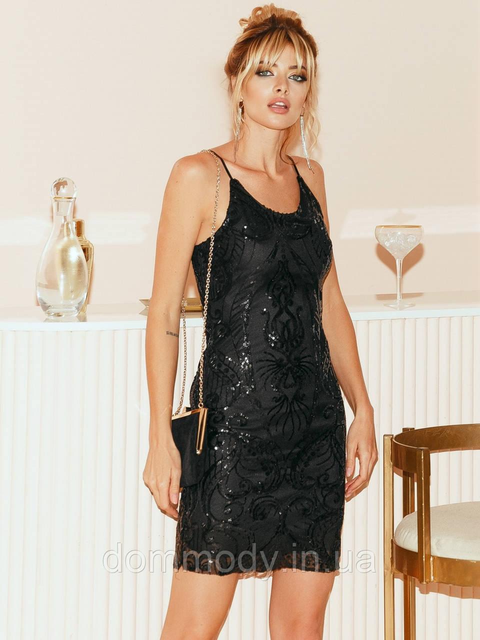 Платье женское Jessica shining black