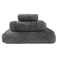 Набор банных махровых полотенец серый (2 банных+2 для лица) ТТ1020