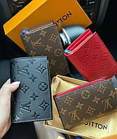 Женский кожаный кошелек Louis Vuitton Луи Виттон в расцветках, брендовые кошельки, гаманець жіночий шкірний