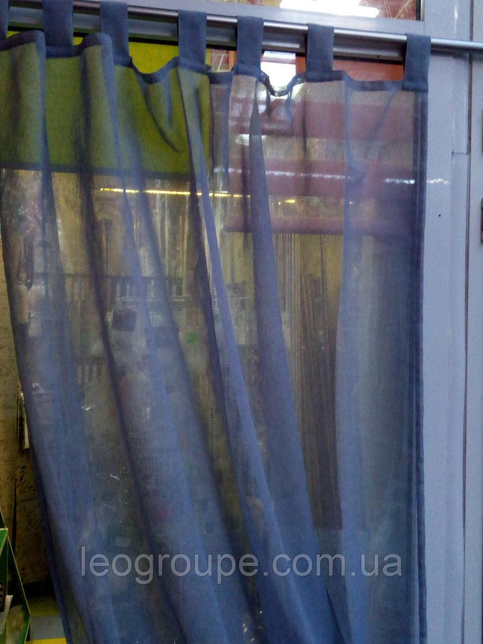 Тюль лен   Цвет дымчато -серый   3м х2,5м