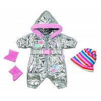 826942 Zapf Набор одежды для куклы BABY BORN - ЗИМНИЙ КОСТЮМ ДЕЛЮКС