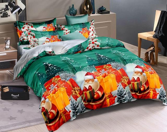 Детские новогодние постельные комплекты