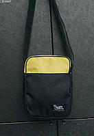 Сумка через плечо Staff yellow & black, фото 1