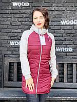Спортивная куртка евро демисезон арт. 768/2, бордо