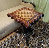 Стол деревянный / шахматный стол, фото 1