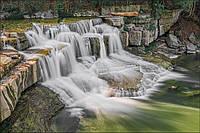 Картина Горный водопад на натуральном дереве Артприз 30х60см (КДПП3060/19), фото 1